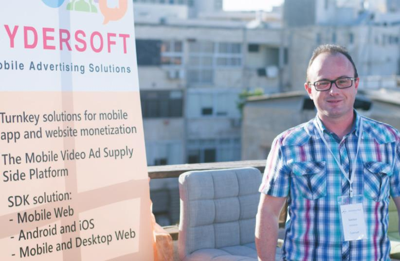 CEO OF CYDERSOFT, Semion Rotshtein: All you need to get started and begin making money is to get users to go into the video's URL where they'll see a link (photo credit: PAUL JACOBSON)