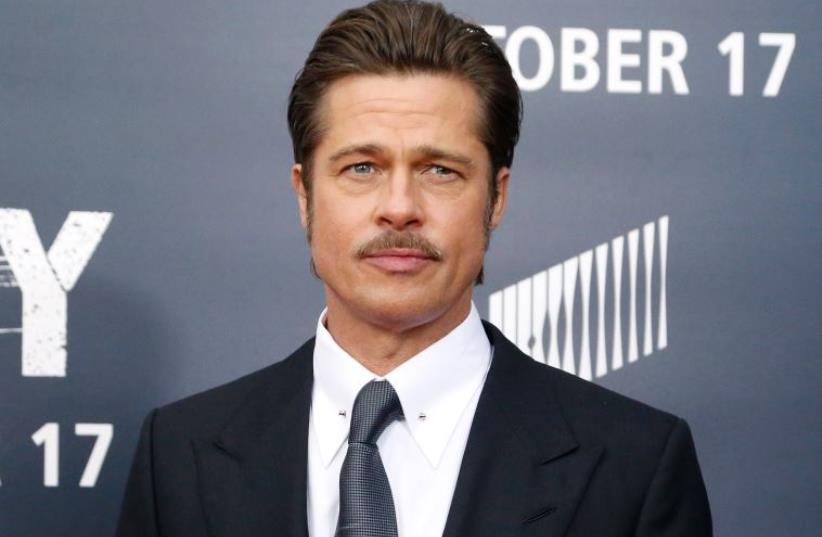 Brad Pitt  (photo credit: REUTERS)