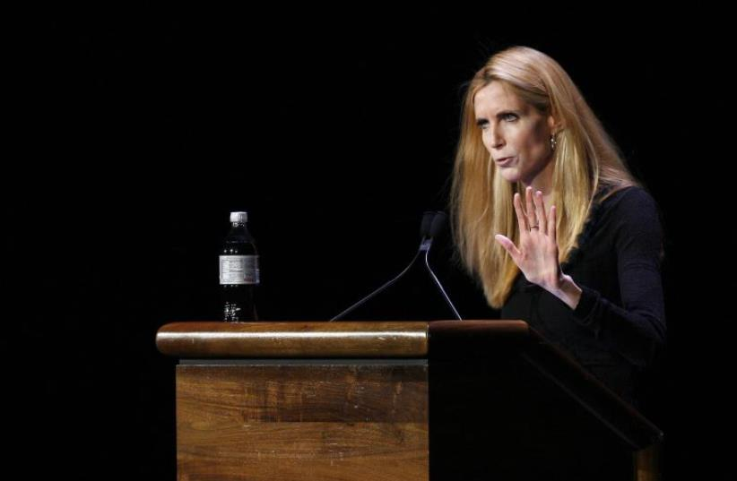 Ann Coulter (photo credit: REUTERS)