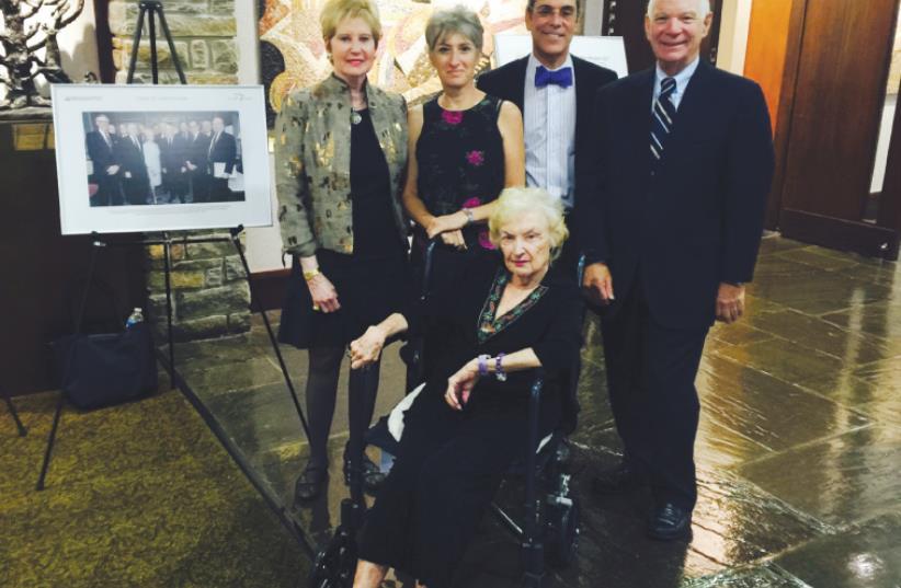 Shoshana Cardin honored (photo credit: Courtesy)