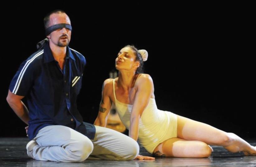 Niv Shenfeld and Oren Laor's dance shows (photo credit: GADI DAGON)