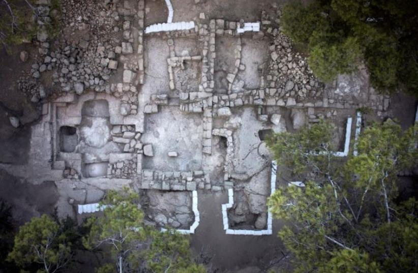 Tomb of the Maccabees possibly uncovered in Modi'in (photo credit: Israel Antiquities Authority)