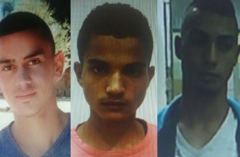 Suspects arrested in connection to Rosh Hashana rock-throwing attack  (photo credit: SHIN BET)