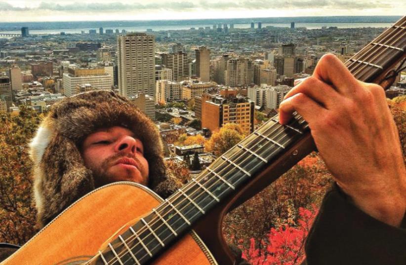 Jerusalem-based musician YM (photo credit: YAAKOV LEPON)