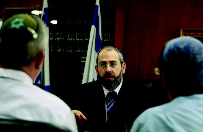 Le Rav David Lau (photo credit: MARC ISRAEL SELLEM/THE JERUSALEM POST)