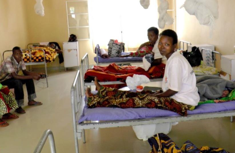 The maternity ward at the Gashora Medical Center in southern Rwanda (photo credit: BERNARD DICHEK)
