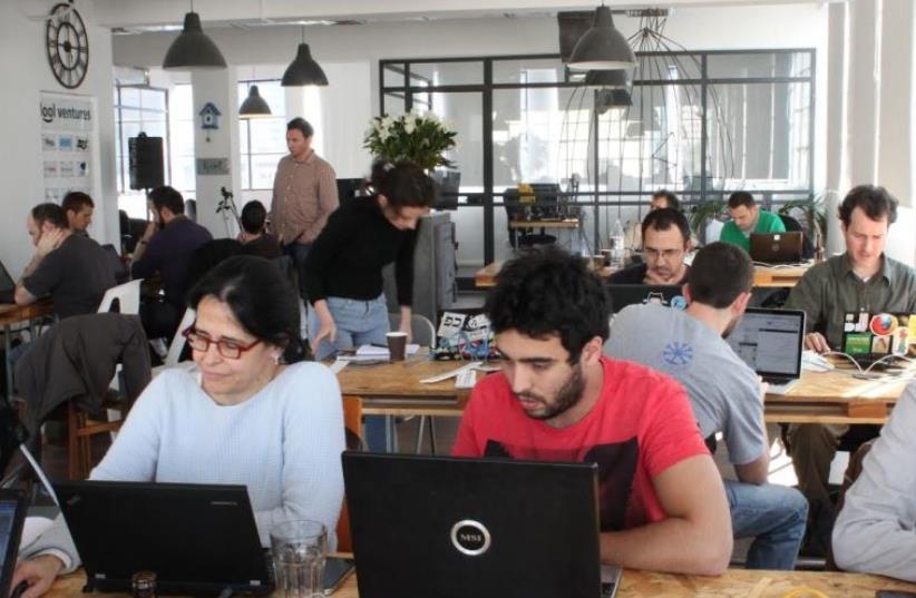Public Knowledge Workshop hackathons (photo credit: PUBLIC KNOWLEDGE WORKSHOP)