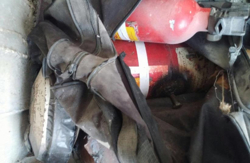 Explosives found in Jenin raid (photo credit: IDF)