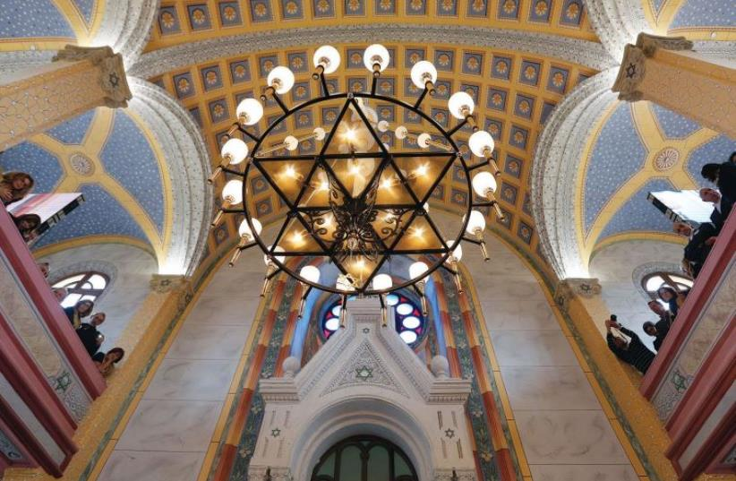 Grand Synagogue of Edirne, Turkey (photo credit: REUTERS)