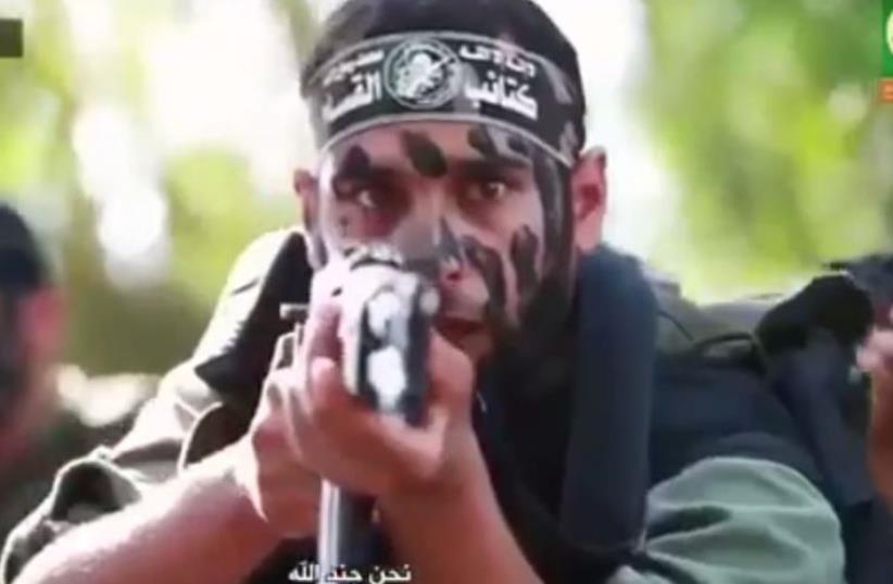 Hamas propaganda video (photo credit: screenshot)