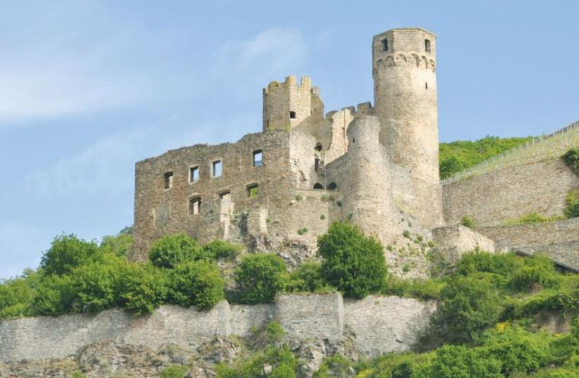 Castle on the scenic stretch of the Rhine from Koblenz to Bingen (photo credit: IRVING SPITZ)