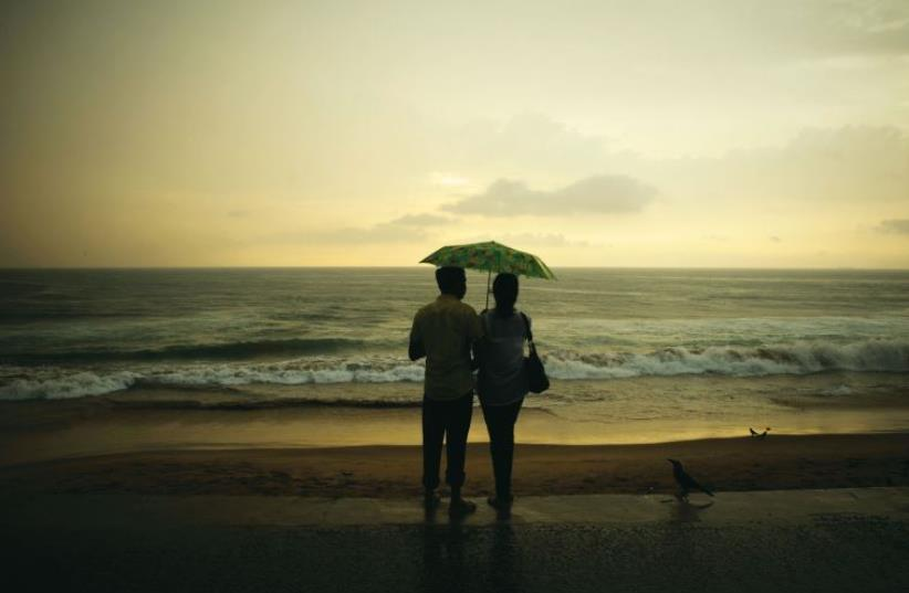 A love story (illustrative) (photo credit: REUTERS)