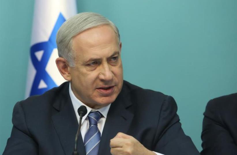 Prime Minister Benjamin Netanyahu, Octobe 8, 2015 (photo credit: MARC ISRAEL SELLEM)