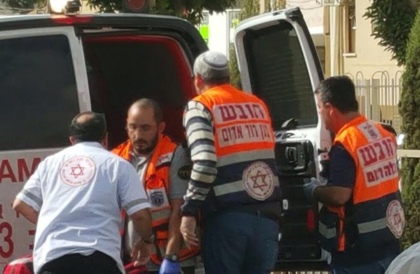 Dimona stabbings (photo credit: POLICE SPOKESPERSON'S UNIT)