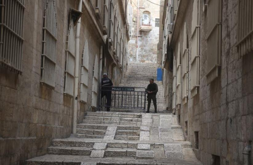 The Old City of Jerusalem (photo credit: MARC ISRAEL SELLEM/THE JERUSALEM POST)