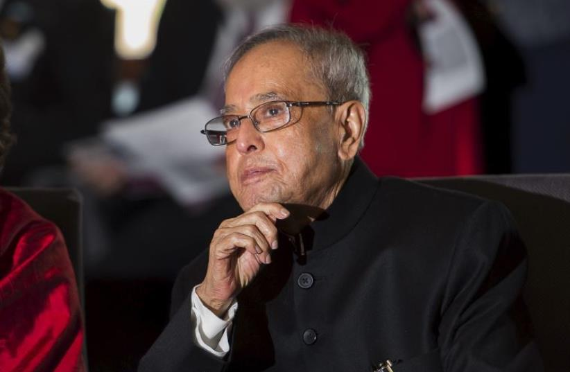 Pranab Mukherjee (photo credit: REUTERS)