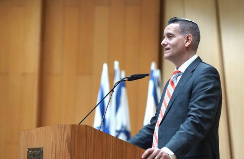 Yisrael Beytenu MK Ashley Perry at the Knesset, October 13, 2015 (photo credit: FACEBOOK)