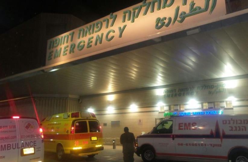 Soroka University Medical Center in Beersheba (photo credit: PANET.CO.IL)