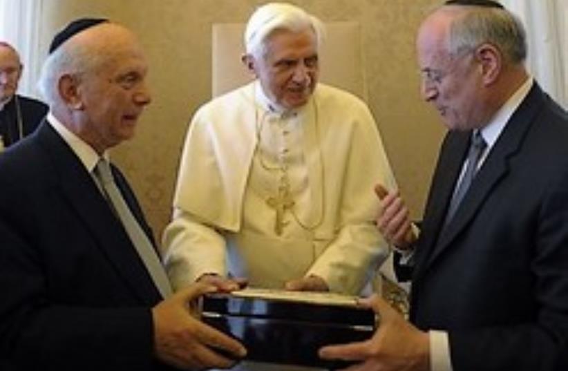 pope jews 63 (photo credit: AP)