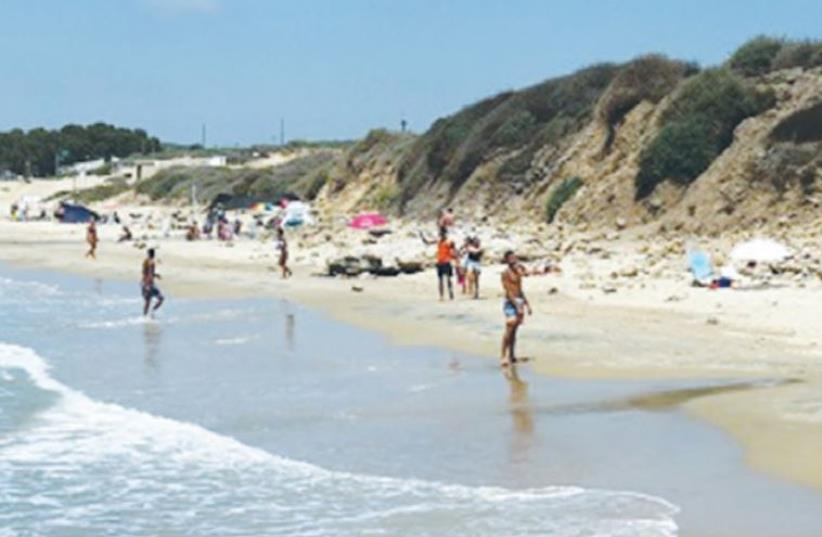 PALMAHIM BEACH (photo credit: SPNI)