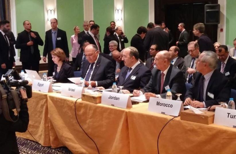 Foreign Ministry Director General Dore Gold Organization for Security and Cooperation in Europe (OSCE) conference in Jordan (photo credit: FOREIGN MINISTRY)