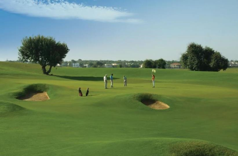 The Caesarea Golf Club will play host to this week's Edmond de Rothschild Israeli Masters, including the final event of the professional ALPS Tour season (photo credit: YARO BRIL/COURTESY)