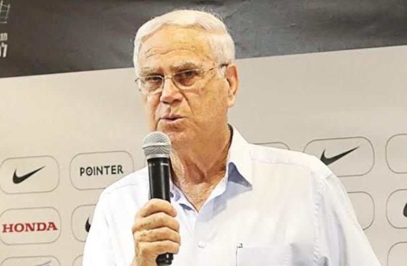 Maccabi Haifa owner Jacob Shachar (photo credit: ERAN LUF)