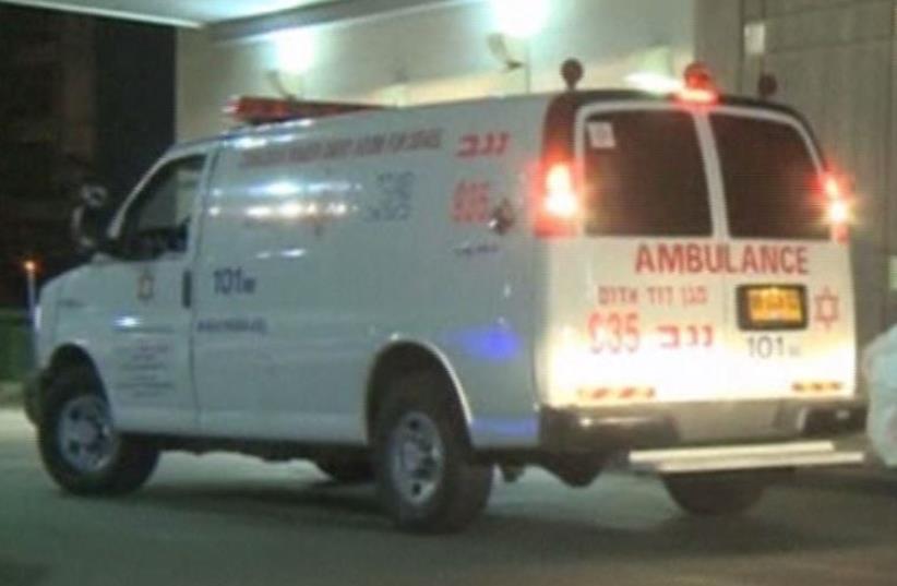 Ambulance (illustrative) (photo credit: screenshot)