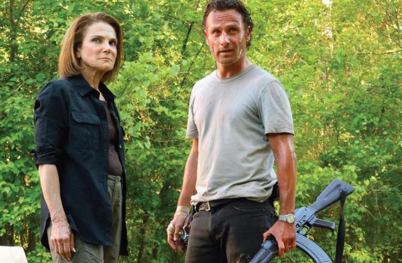 'The walking dead' TV series (photo credit: PR)