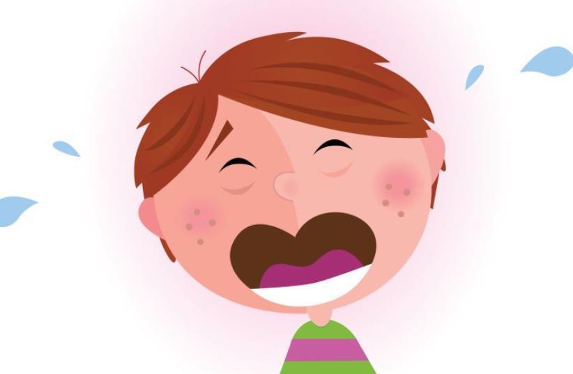 A child crying (photo credit: INGIMAGE)