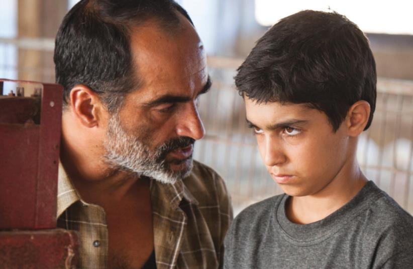 FAMILY TIES: Navid Negahban (left) and Asher Avrahami star in the awardwinning Israeli drama 'Baba Joon.' (photo credit: YORAI LIBERMAN)
