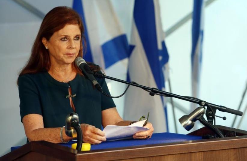 Dalia Rabin, October 26, 2015 (photo credit: MARC ISRAEL SELLEM)