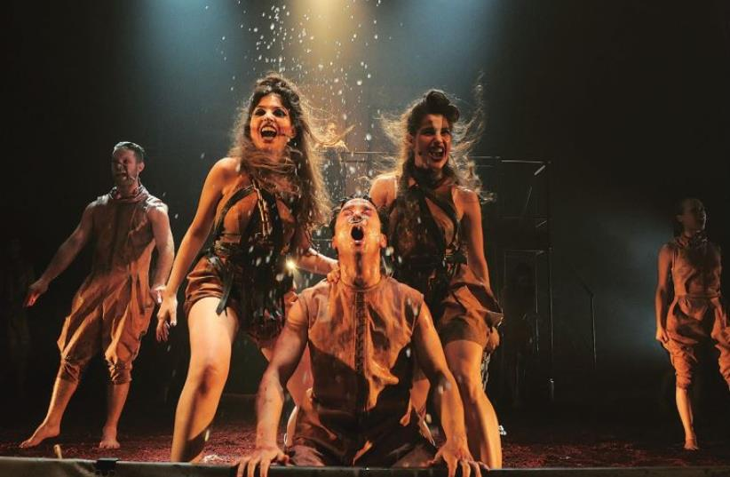 Theater production of Animal Farm (photo credit: LIRAN LEVY)