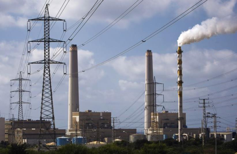 A power station is seen in Ashdod (photo credit: REUTERS)