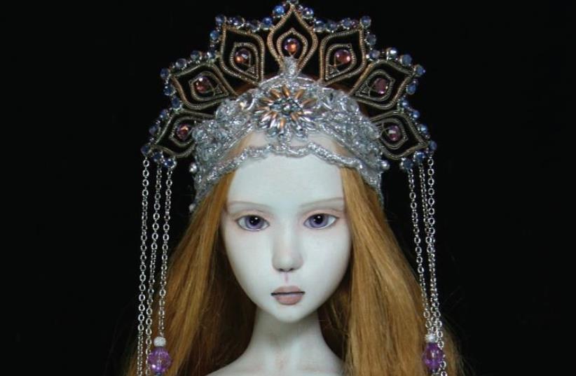 """""""Dolls Art #2,"""" exhibition (photo credit: PR)"""