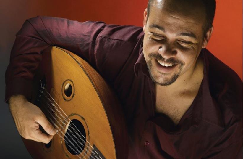ISRAELI GUITARIST-oud player Amos Hoffman. (photo credit: AMOSHOFFMAN.COM)