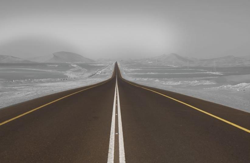 A dark highway (photo credit: Wikimedia Commons)