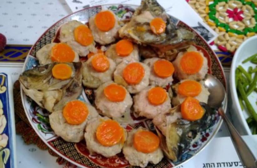Gefilte fish (photo credit: OVEDC / WIKIMEDIA COMMONS)
