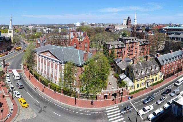 Harvard University (photo credit: CHENSIYUAN/WIKIMEDIA COMMONS)