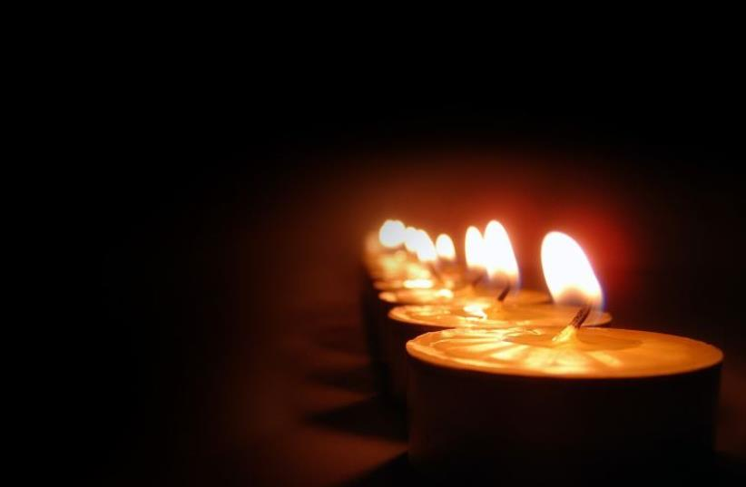 Remembrance candle (photo credit: Courtesy)