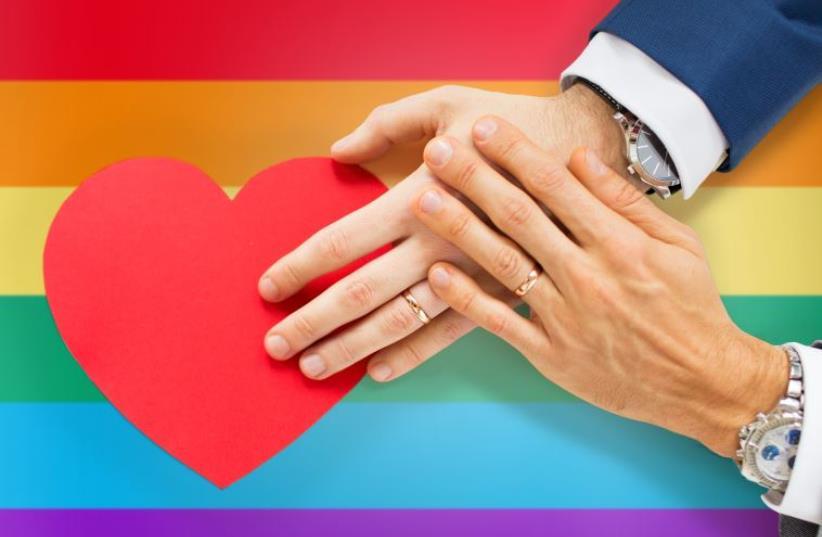 Gay marriage  (photo credit: INGIMAGE)