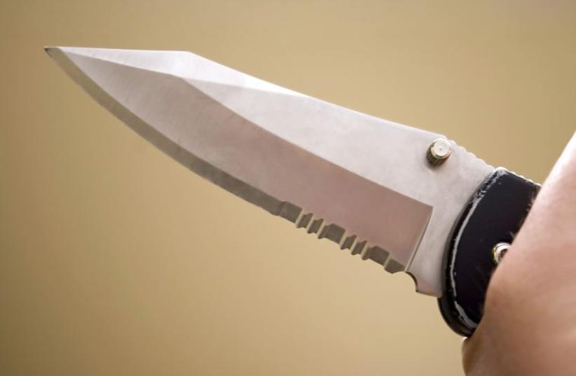 Knife [Illustrative] (photo credit: INGIMAGE)