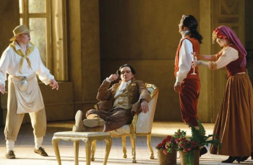 The Marriage of Figaro from the Lithuanian National Opera of Vilnius. (photo credit: Courtesy)