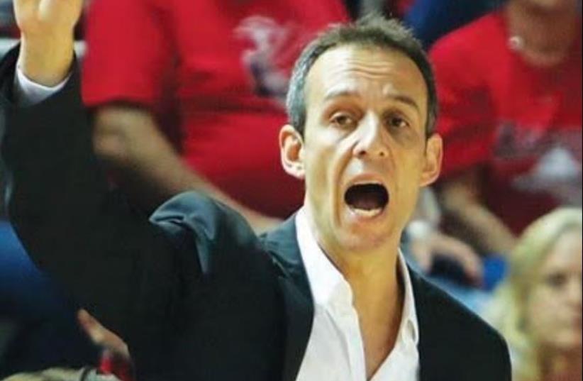 Hapoel Tel Aviv coach Oded Katash (photo credit: ADI AVISHAI)