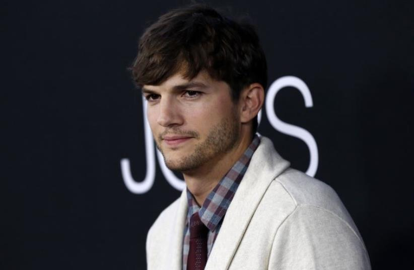 American actor and investor Ashton Kutcher (photo credit: REUTERS)