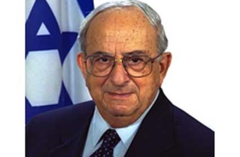 Former president Yitzhak Navon (photo credit: Courtesy)