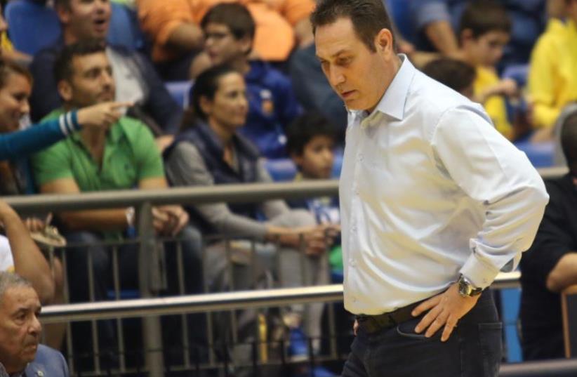 Maccabi Tel Aviv parted ways with coach Guy Goodes on Monday following the team's dismal start to the season (photo credit: ADI AVISHAI)