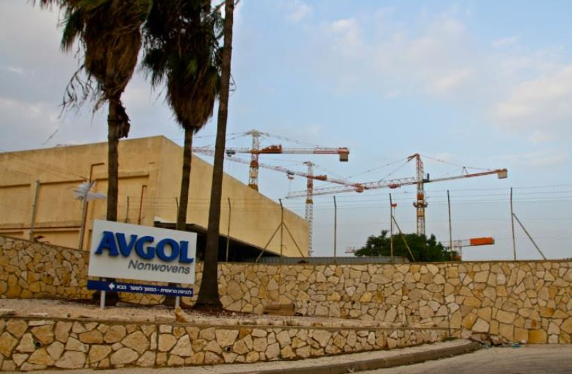 The Barkan Industrial Park, located in the Samaria region of the West Bank (photo credit: TOVAH LAZAROFF)
