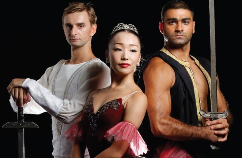 The Israel Ballet (photo credit: EYAL LANDSMAN)