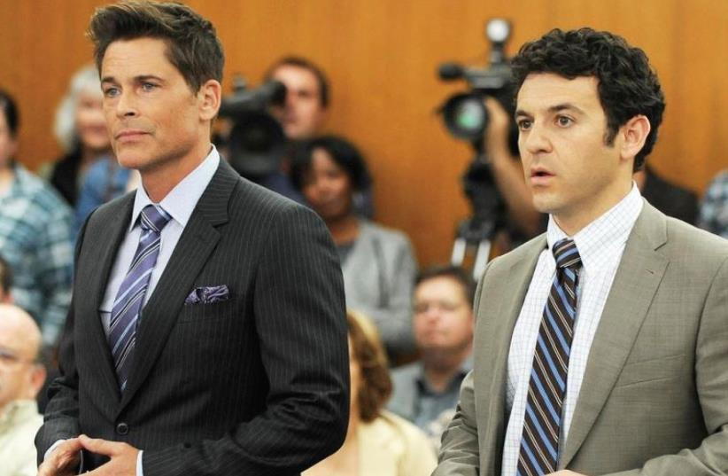 The Grinder TV show (photo credit: PR)